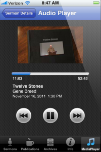 iOS Media Player